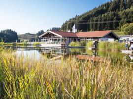 Haubers Naturresort Gutshof, Hotel in Oberstaufen