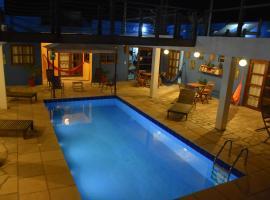 Pousada Amigos do Vento, hotel with pools in Touros