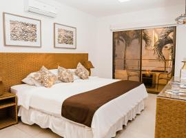 Hotel Vistalmar, hotel in Manta