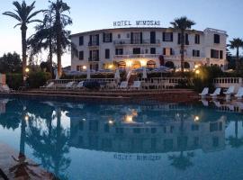 Hotel des Mimosas, hotel near Marineland Antibes, Juan-les-Pins