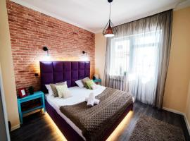 2х комн ЖК Вавилон 000237, hotel in Almaty