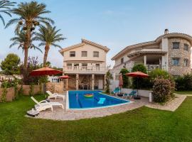 Villa frente al Mar, hotel a l'Ampolla