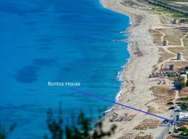 Rontos House, seaside, villa in Lefkada