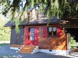 Charmant Chalet Hautes-vosges, villa in Bussang