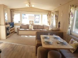 Isle of Wight Caravan, glamping site in Shanklin