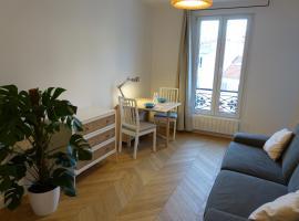 Sunny and quiet apartment, hotel near Denfert-Rochereau Metro Station, Paris