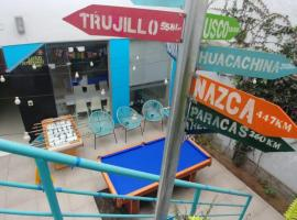The PRIME SPOT, Backpacker's hostel, hotel near Huaca Pucllana, Lima