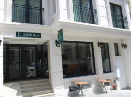 Liberi Hotel Taksim, отель в Стамбуле, рядом находится Улица Истикляль