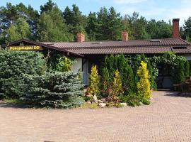 PokojeKajaki DD Swornegacie, family hotel in Swornegacie