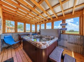 Sunset Cabin, vacation rental in Fredericksburg