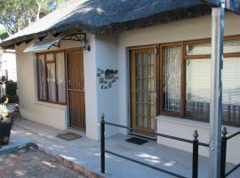 The Wormhole Garden Cottage, apartment in Stellenbosch