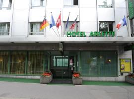 Hotel Arlette Beim Hauptbahnhof, hotel near ETH Zurich, Zurich