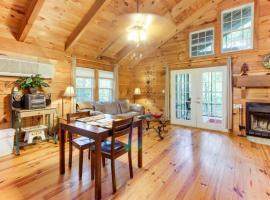 Country Cottage, Ferienunterkunft in Sautee Nacoochee