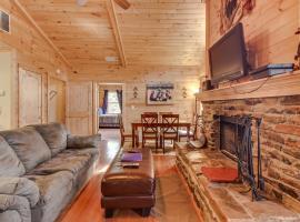 Bears Cove, Ferienunterkunft in Sautee Nacoochee