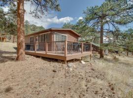 Peak View Cabin, vacation rental in Estes Park