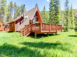 Blue River Cabin in the Woods, hotel in Blue River
