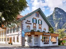 AKZENT Hotel Turmwirt ***S, hotel near Hörnlebahn, Oberammergau