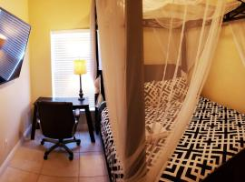 F Private Room With TV, homestay in Orlando