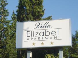 Apartments Villa Elizabet, hotel near Malin Beach, Malinska