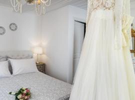 Evagelia's Villas, hotell i Skopelos stad
