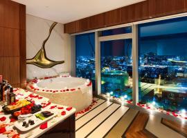 Sky Rooms - Moscow City Paradise, отель для свиданий в Москве