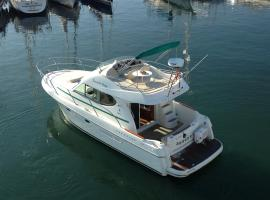 Yate 32 pies, boat in Sitges