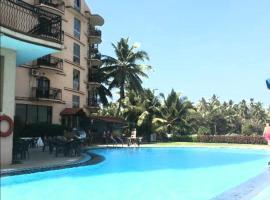 Blue Flamingo Luxury Beach Apartment, hotel with pools in Baga