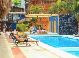 Selina Montañita, hotel in Montañita