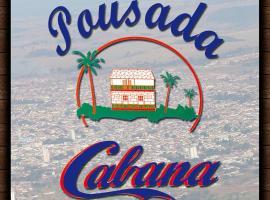 Pousada Cabana, hotel em Avaré