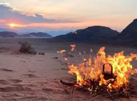 WADI RUM-Bedouin Tents, luxury tent in Wadi Rum