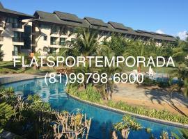 Flat no Beach Class Muro Alto, pet-friendly hotel in Porto De Galinhas