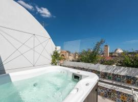 Bea's Terrace, hotel with jacuzzis in Cagliari