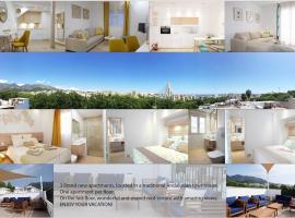 360° Old town Marbella, lägenhet i Marbella