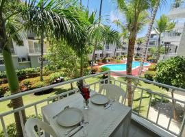 SOL CARIBE - PLAYA LOS CORALES - swimming pool, beach club, bbq, wifi, hotel en Punta Cana