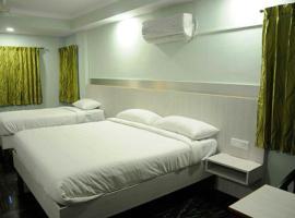 HOTEL CENTRAL SQUARE, hotel in Muzaffarpur