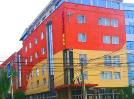 Hotel Strelitia, hotel din apropiere   de Sinagoga din Fabric, Timișoara