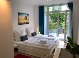 EMILY´S Eastgate Garden Suites, Hotel in der Nähe von: U-Bahnhof Nordostbahnhof, Nürnberg
