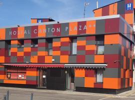 Hostal Canton Plaza, hostal o pensión en Hospital de Órbigo