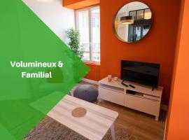 Gahenda - Appartement Volumineux et Familial - Parking, WiFi & Netflix, hotel en Hendaya
