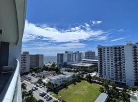 Modern Luxury Beach Hotel 1 Bedroom Corner with Views 901, villa in Fort Lauderdale