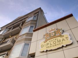 Hotel Diplomat Residency, hotel near Hazrat Nizammudin Train Station, New Delhi