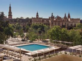 Melia Sevilla, hotel near Plaza de España, Seville