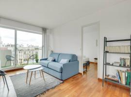Luminous Apt 4pers with balcony, villa a Parigi