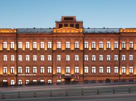 AZIMUT Отель Тульская Москва, отель в Москве, рядом находится Природный заказник «Воробьевы горы»