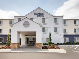 Fairfield Inn & Suites Indianapolis Airport, hotel near Indianapolis International Airport - IND, Indianapolis