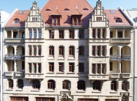 Apartmenthotel Quartier M, Ferienwohnung mit Hotelservice in Leipzig