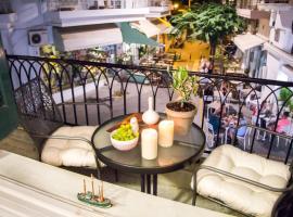 Artistic Getaway Home - Super Central, hotel near Morosini Fountain, Heraklio Town