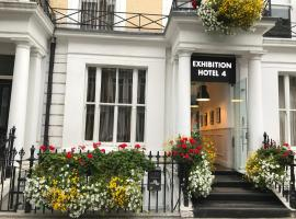 Exhibition Court Hotel 4, hotel en Earls Court, Londres