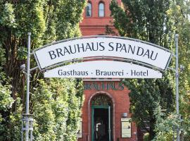 Brauhaus in Spandau, hotel near Berlin Olympic Stadium, Berlin