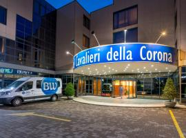 Best Western Cavalieri Della Corona, hotell nära Milano Malpensa flygplats - MXP,